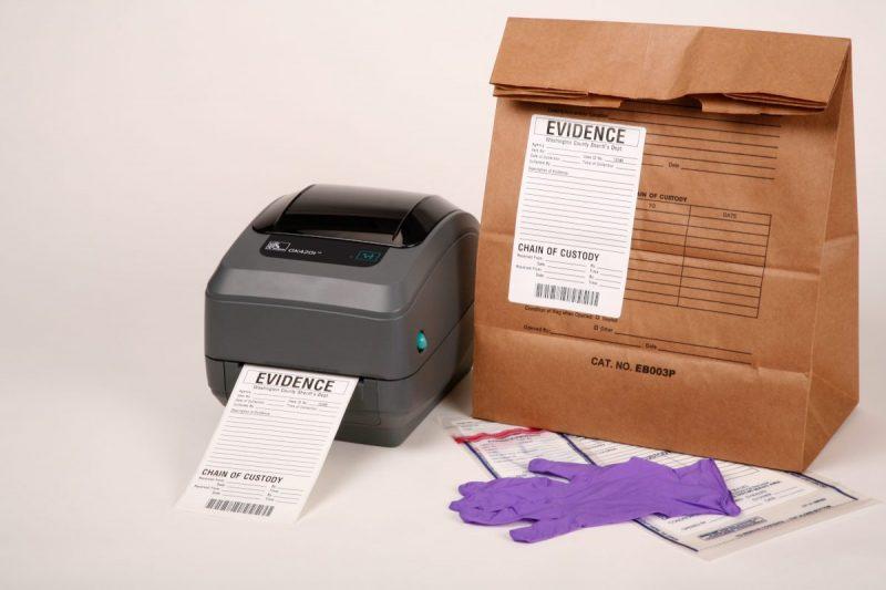 gk420t evidence tracking - Zebra GK420t