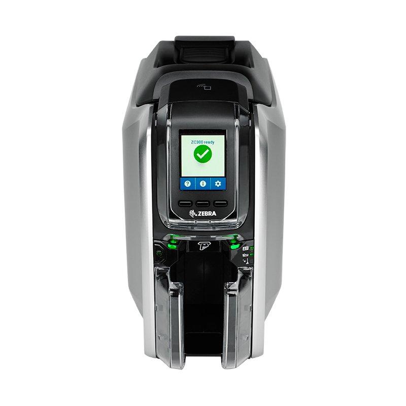 zc300 product photgraphy headon png - Zebra ZC300