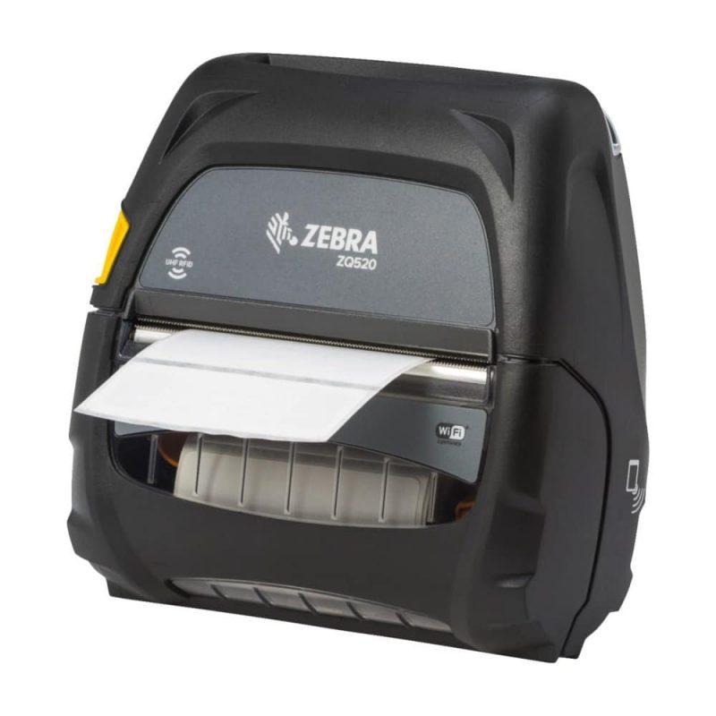 zq520 rfid angled left with media print 300dpi - Zebra ZQ520